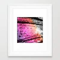 pastel Framed Art Prints featuring pastel by 2sweet4words Designs