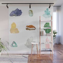 Gemstones Wall Mural