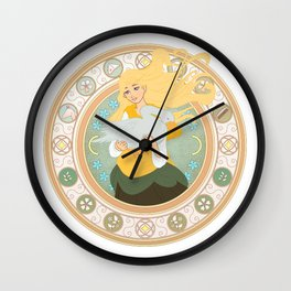 Goose Girl Wall Clock