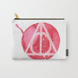 Deathly Hallows in Ink Carry-All Pouch