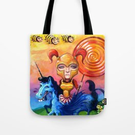 The Candy Warrior Tote Bag