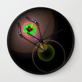 Magical Light and Energy 21 Wall Clock