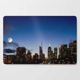Skyline - The Darkness Is Coming Cutting Board