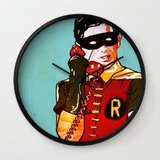 Robin Wall Clock