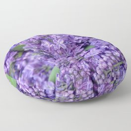 Lilacs Floor Pillow
