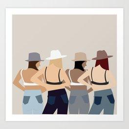 Jean Gals Art Print