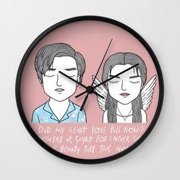 R + J Wall Clock