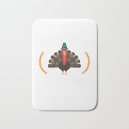 You Only Like Me for My Breasts Funny Thanksgiving Bath Mat