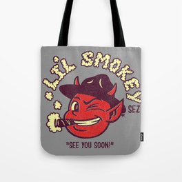 Li'l Smokey Tote Bag