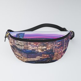 Voyeuristic 1688 Vancouver Cityscape - English Bay Pacific Rim View British Columbia Canada Travel Fanny Pack