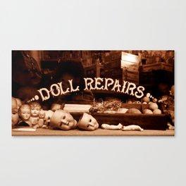 DOLL REPAIRS Canvas Print