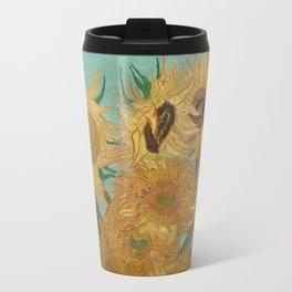 Sunflowers by Vincent Van Gogh Travel Mug