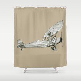 plane2 Shower Curtain