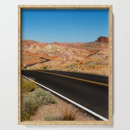 Valley of Fire, Nevada. Serving Tray
