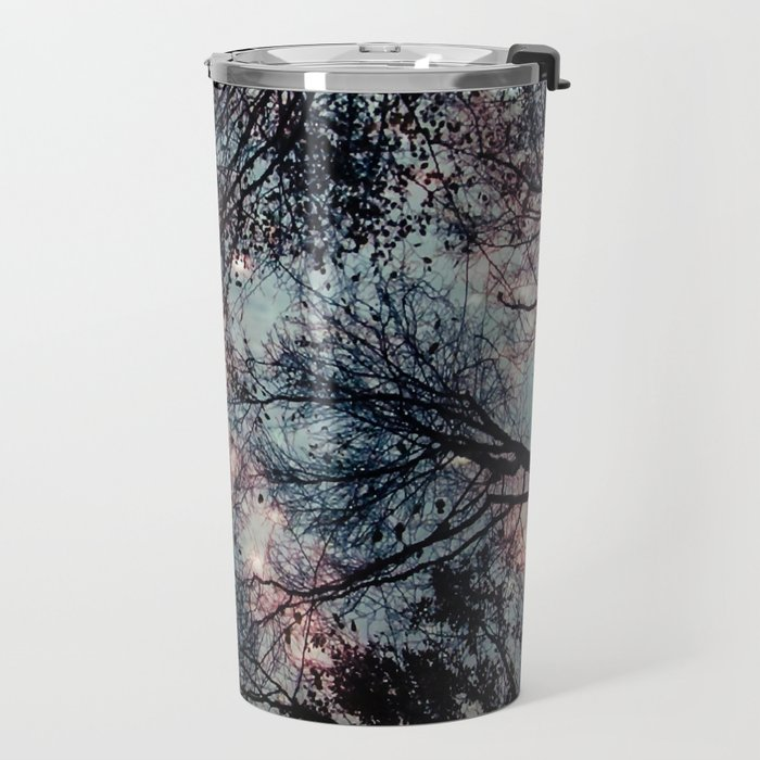 Starry Sky in the Forest Travel Mug