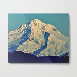 MT. HOOD - AT TWILIGHT Metal Print