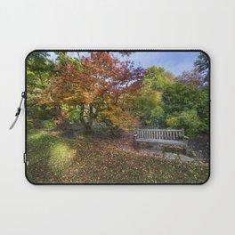Autumn Bench  Laptop Sleeve