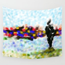 Les Amoureux Wall Tapestry