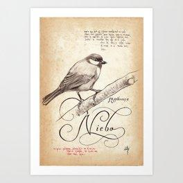 BIRD 05  Art Print