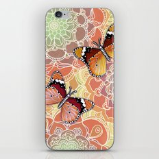Butterfly Obsession iPhone & iPod Skin