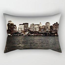 Same Spot, Different Light Rectangular Pillow