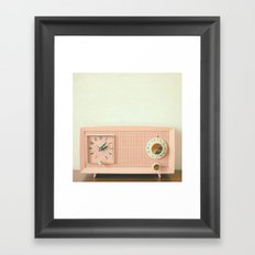 Easy Listening Framed Art Print