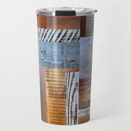 Reclaimed Wood Collage 4.0 Travel Mug