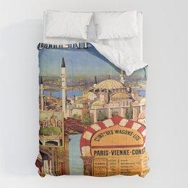 Vintage poster - Orient Express Comforters