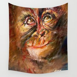 Zodiac - Monkey Wall Tapestry