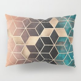 Ombre Dream Cubes Pillow Sham