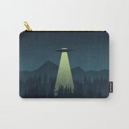Forest UFO Carry-All Pouch