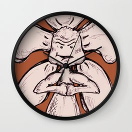 """Control Your Power"" Flowerkid Wall Clock"