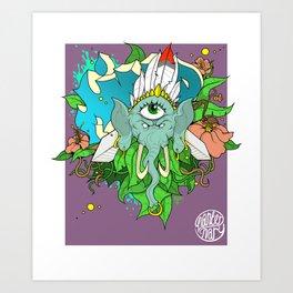 Mind -By Mantle Art Print