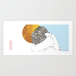 I Missed You So Much Art Print