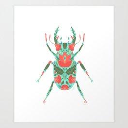 Darling beast Art Print