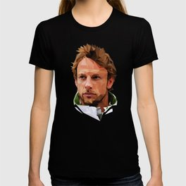 Jenson Button low poly T-shirt