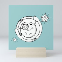 Motor Moon Mini Art Print