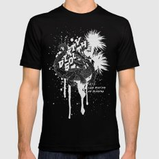 DIRTY SOUTH: The Flavor of Florida MEDIUM Black Mens Fitted Tee