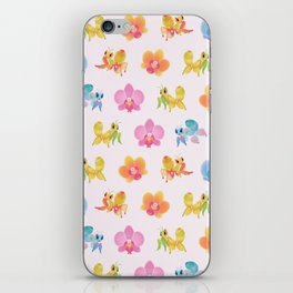 Orchid mantis iPhone Skin