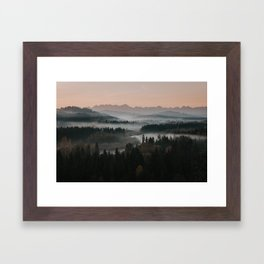 Good Morning! - Landscape and Nature Photography Framed Art Print