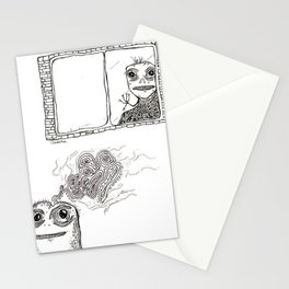 Little Monsters Stationery Cards