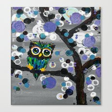 ::Gemmy Owl Weather's the Storm:: Canvas Print