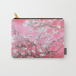 Van Gogh Almond Blossoms : Pink & Aqua Carry-All Pouch