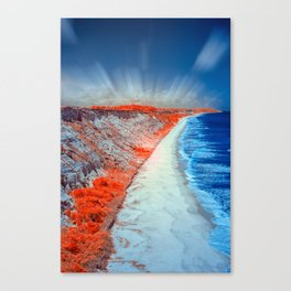 Trancoso Beach Canvas Print