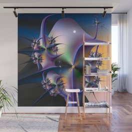 Abstract Upstairs Downstairs Balconies Wall Mural