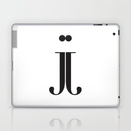 "Mirrored - The Didot ""j"" Project Laptop & iPad Skin"