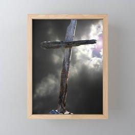The Old Rugged Cross Framed Mini Art Print
