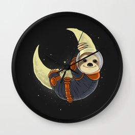 Cosmosloth Wall Clock