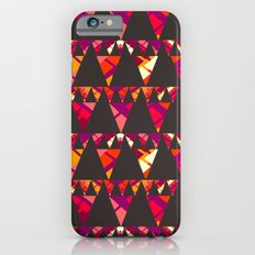 Vibrant triangles iPhone 6s Slim Case