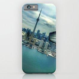Toronto Skyline from Plane iPhone Case